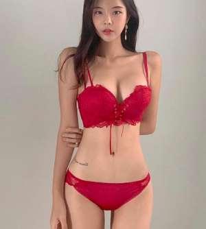 性感美女姜惠智诱惑写真 姜惠智私房内衣写真
