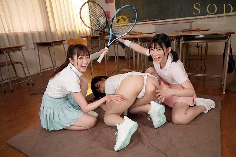 STARS-308:年轻的三巨头齐聚校园!实习老师被榨成人干!